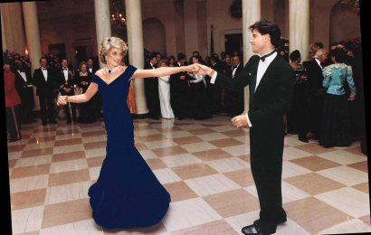 Princess Diana's Famous 'John Travolta Dress' Fails to Sell at Auction