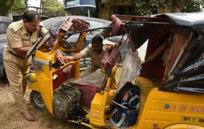 12-year-old student killed as lorry rams school auto