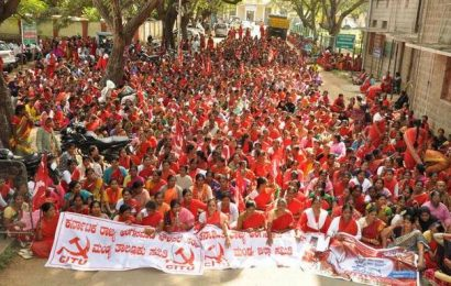 Workers demand strengthening of Anganwadi centres