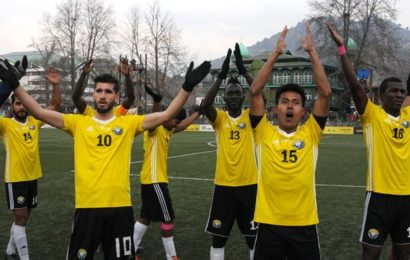 Indian soccer: Real Kashmir set to host I-League tie vs Chennai