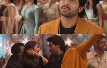 Ala Vaikunthapurramuloo: Allu Arjun and Pooja Hegde's Ramuloo Ramulaa becomes the fastest Telugu song to clock 100 million views   Bollywood Life