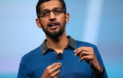 Google's Sundar Pichai promoted as Alphabet CEO