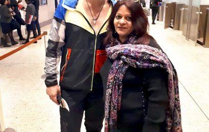 Spotted: Where was Krushna Abhishek heading?