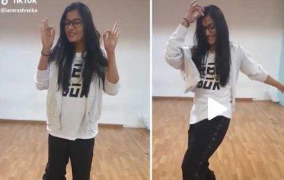 Tiktok Video: Rashmika's Outstanding Dance Moves for Sarileru