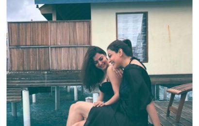 Kajal and Nisha's Maldives pics are sibling goals