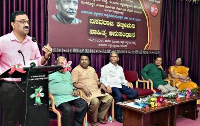 'Kattimani's works uphold Marxist ideals of an egalitarian society'