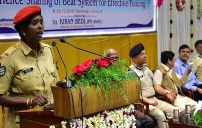 Reach out to public, Kiran Bedi urges beat police officers