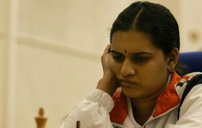 Koneru Humpy placed second after day one of Blitz competition in Moscow