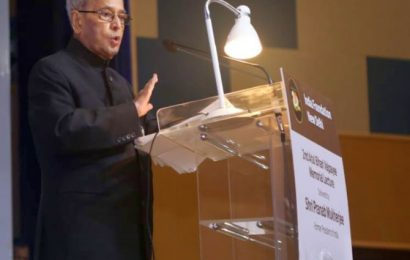Amid citizenship row, Pranab cautions against majoritarianism
