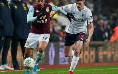 League Cup: Villa beat Liverpool's kids to reach semis