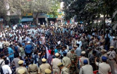 Students protest delay in release of scholarship