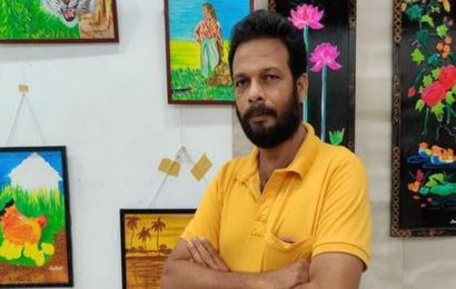 This Kerala auto driver-artist spotlights the need to go back to nature with his paintings and craftwork
