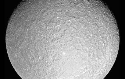 Meet Rhea, a moon with an oxygen atmosphere