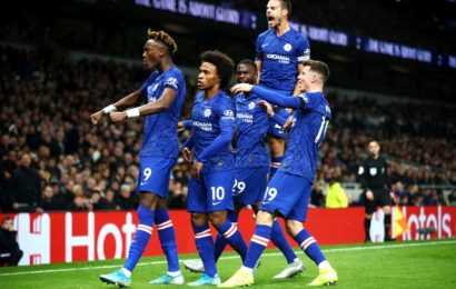 EPL: Racism claims halt match before Chelsea sink Spurs