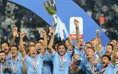 Soccer PIX: Lazio beat Juve to win Italian Supercup