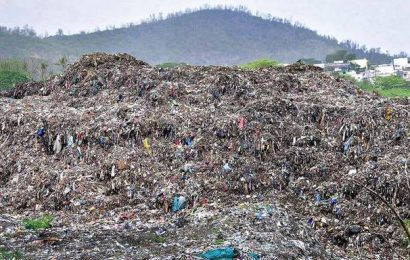Authorities consider bio-mining mountains of legacy waste