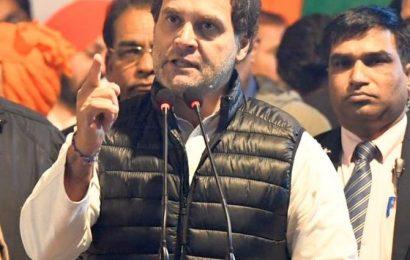 'Jhooton ka sardar': BJP slams Rahul over detention centre remarks