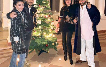PIX: Priyanka-Nick celebrate Christmas