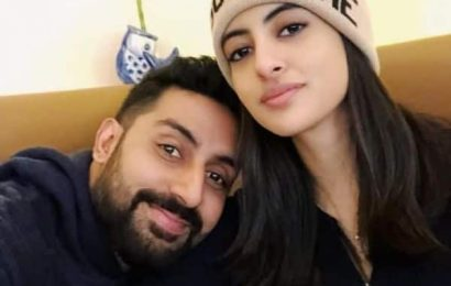 Abhishek Bachchan shares such a cute picture with 'Partner In Kicks' Navya Naveli Nanda on her birthday | Bollywood Life