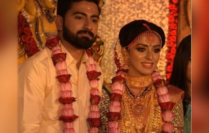 Actress Mahalakshmi weds Nirmal Krishna