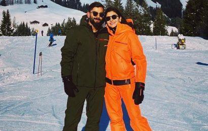 Inside Anushka Sharma, Virat Kohli's snowy vacation