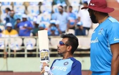 Virat Kohli trolls Yuzvendra Chahal before India vs West Indies 3rd ODI