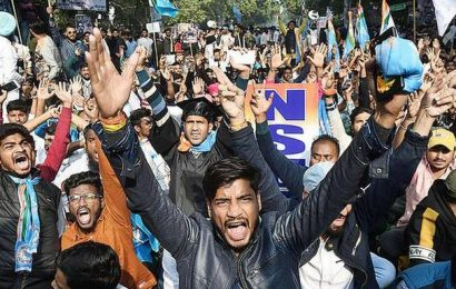 Rally taken out to protest anti-student policies of govt.