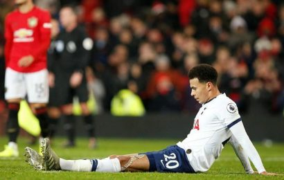 Tottenham Hotspur's attitude to blame for Manchester United defeat, says Dele Alli