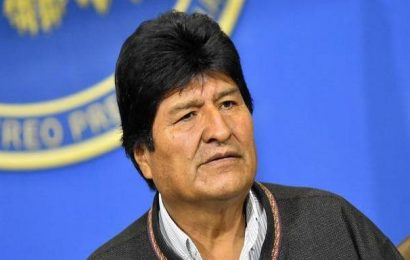 Boliva's ex-president Morales plans party rally on Argentina border