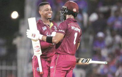 India vs West Indies 1stODI: Hetty hits, Hope soars