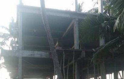 Rampant violation of CRZ norms in Valiyaparamba island