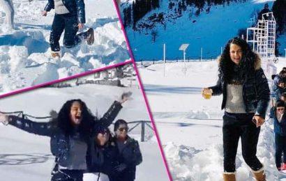 Manali की वादियों में ठंडी बर्फ के बीच बच्चों की तरह खेलती दिखीं Kangana Ranaut, वायरल हो रही हैं ये फोटोज