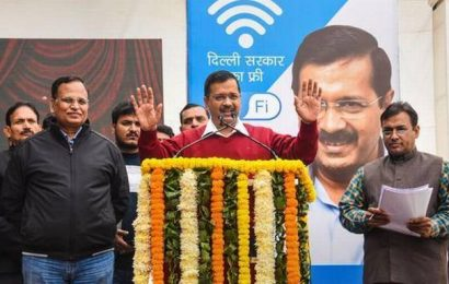 On a day when Internet services were suspended in Delhi, Arvind Kejriwal launches free WiFi scheme