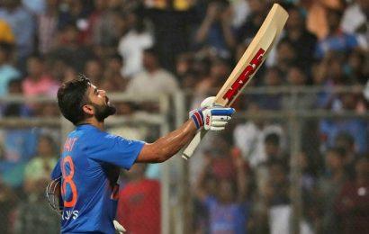 Virat Kohli jumps five places to enter top 10 in ICC T20I batsmen rankings