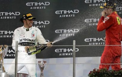 Lewis Hamilton cruises to victory at season-ending Abu Dhabi GP