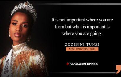 Not just any change but positive, effective change is needed: Miss Universe 2019 Zozibini Tunzi
