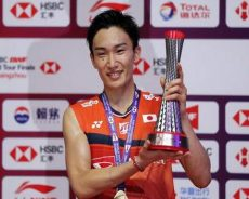 BWF World Tour Finals: Kento Momota caps stellar year with 11th badminton title