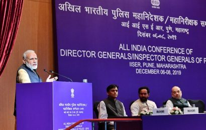 PM Modi stresses on role of effective policing in ensuring women safety