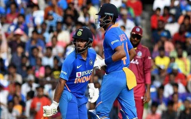 IND vs WI first ODI: Shreyas, Pant half-centuries help India to competitive total