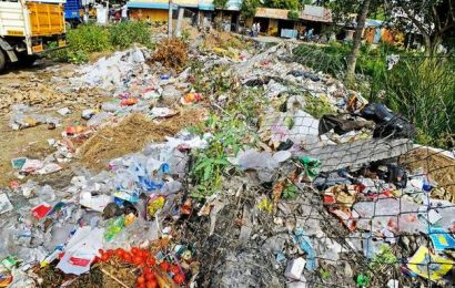 Concern over waste management in rural areas