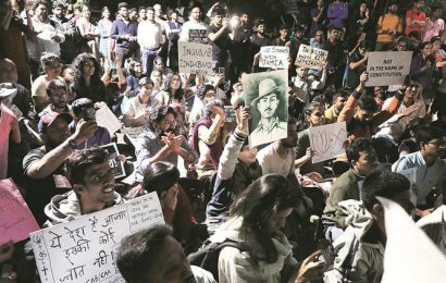 As students protest across country, PM Modi warns against 'vested interests'