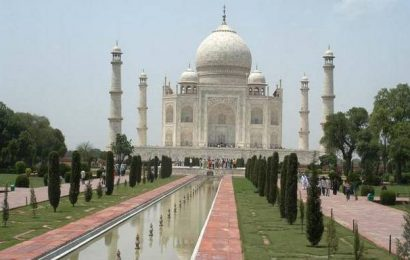 ASI starts work on cleaning insect faeces deposited on Taj Mahal