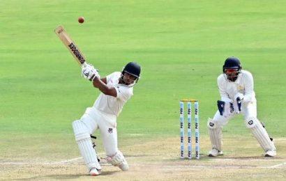 Shaukat hits ton in drawn encounter