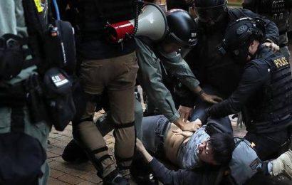 Activists continue Hong Kong protests despite Christmas