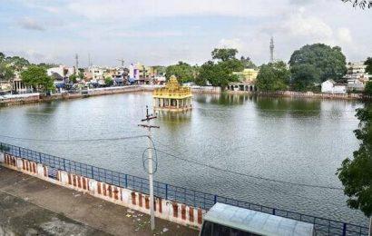 Rama Theertha Kulam temple tank full