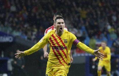 La Liga: Magical Messi sinks Atletico Madrid as Barcelona return to the top