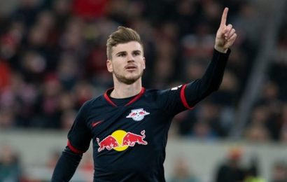 RB Leipzig keep top spot in Germany after comeback win
