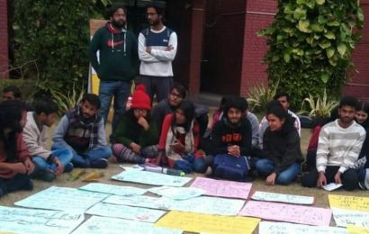 IIMC students demand revision of existing fees, protest enters sixth day