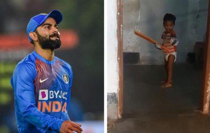 'He's unreal,' Virat Kohli responds to Kevin Pietersen on diaper wearing kid