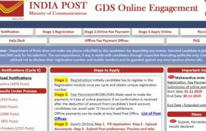 India Post GDS recruitment results declared for Karnataka, Gujarat circles